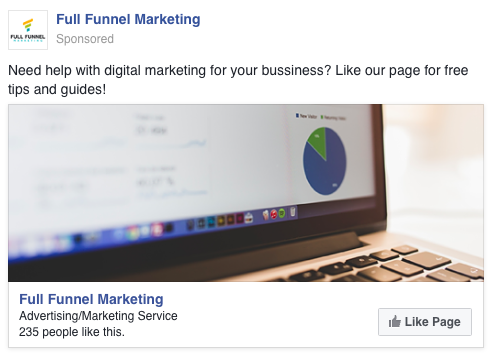 Facebook Like Campaign Example