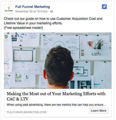 5 Tips for a Successful Facebook Like Campaign - Full Funnel