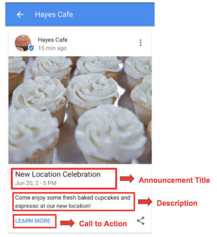 Google My Business Updates 2017