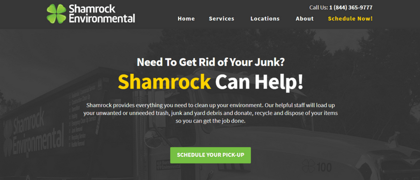 Shamrock Environmental Launches New Site Designed By Full