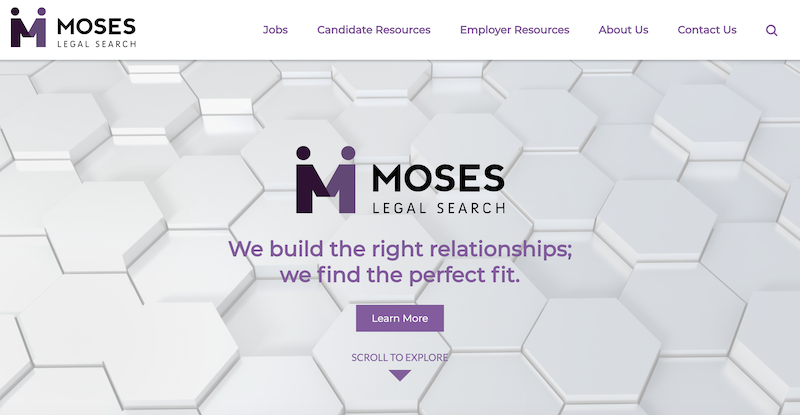 Moses Legal Site Launch
